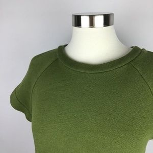 Kate Spade Saturday Short Sleeve Sweatshirt Sz Med